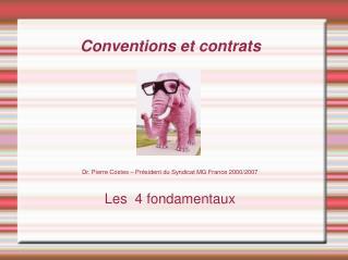 Conventions et contrats