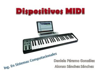 Dispositivos MIDI