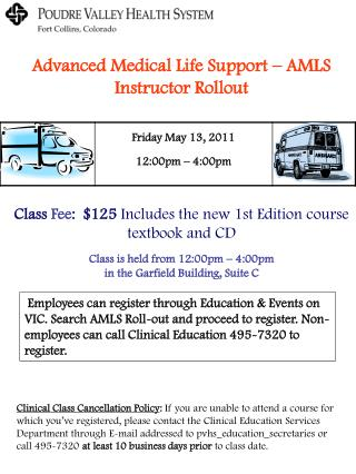 Advanced Medical Life Support – AMLS Instructor Rollout
