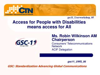 Access for People with Disabilities means access for All