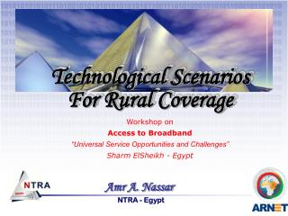 Technological Scenarios  For Rural Coverage