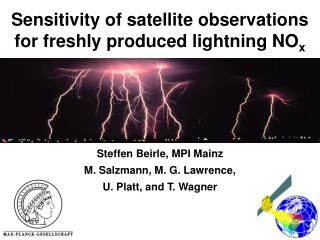 Sensitivity of satellite observations for freshly produced lightning NO x