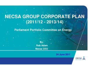 Necsa group corporate plan  (2011/12 - 2013/14)