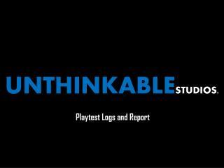 UNTHINKABLE STUDIOS.
