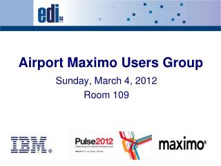 Airport  Maximo  Users Group