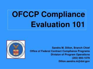 OFCCP Compliance Evaluation 101