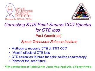Correcting STIS Point-Source CCD Spectra for CTE loss