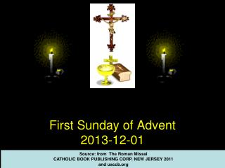 First  Sunday  of Advent 2013-12-01