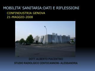 MOBILITA' SANITARIA:DATI E RIFLESSIONI