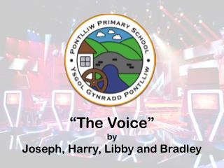 """The Voice"" b y Joseph, Harry, Libby and Bradley"