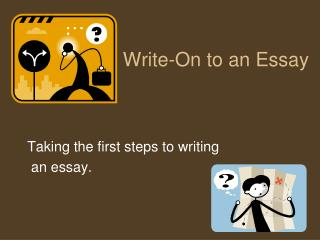 Write-On to an Essay
