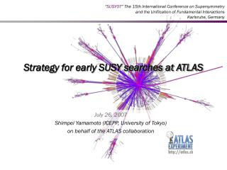Strategy for early SUSY searches at ATLAS