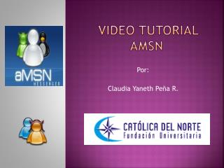 Video tutorial amsn