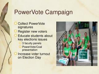 PowerVote Campaign