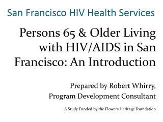 San Francisco HIV Health Services