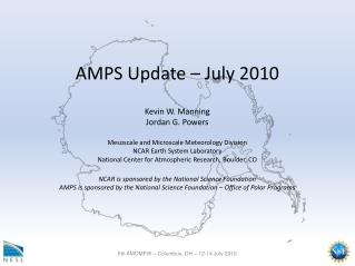AMPS Update – July 2010