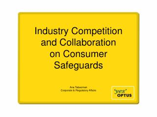 Industry Competition and Collaboration  on Consumer Safeguards