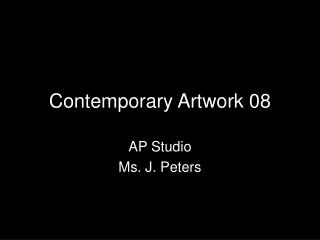 Contemporary Artwork 08