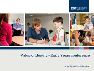Valuing Identity - Early Years conference