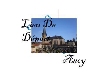 Lieu De Départ