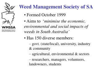 Weed Management Society of SA
