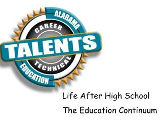 Life After High School  The Education Continuum