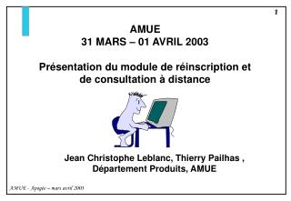 AMUE 31 MARS – 01 AVRIL 2003