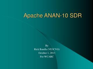 Apache ANAN-10 SDR