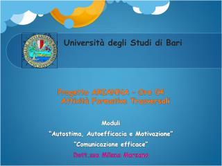 Universit� degli Studi di Bari