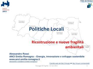 Politiche Locali