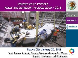Infrastructure Portfolio Water and Sanitation Projects 2010 - 2011