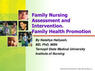 Family Nursing Assessment and Intervention.  Family Health Promotion