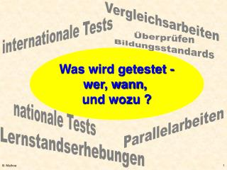 nationale Tests