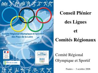 Comité Régional Olympique  et  Sportif
