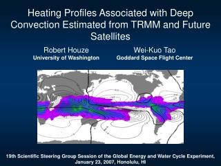 Heating Profiles Associated with Deep Convection Estimated from TRMM and Future Satellites
