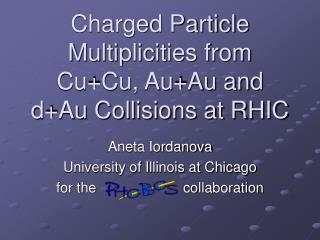 Charged Particle Multiplicities from Cu+Cu, Au+Au and d+Au Collisions at RHIC