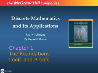 Chapter 1 The Foundations: Logic and Proofs