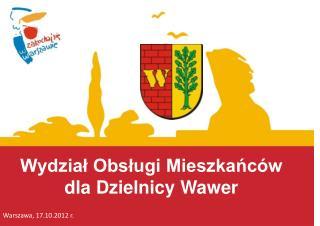 Wydział Obsługi Mieszkańców dla Dzielnicy Wawer
