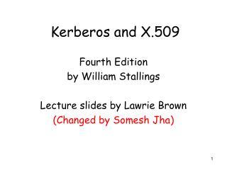 Kerberos and X.509