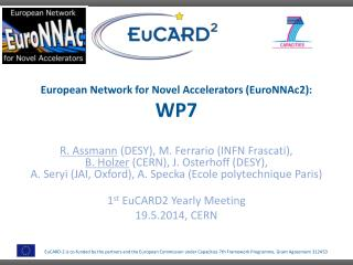 European Network for Novel Accelerators (EuroNNAc2): WP7