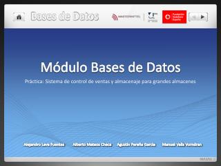 M�dulo Bases de Datos