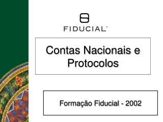 Contas Nacionais e Protocolos