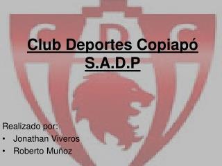 Club Deportes Copiapó S.A.D.P