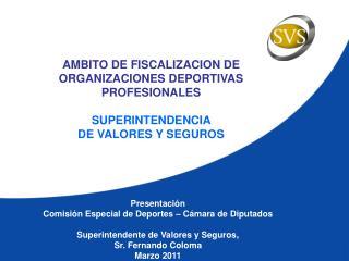 Presentación Comisión Especial de Deportes – Cámara de Diputados