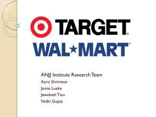 ANJJ Institute Research Team Aarti Shriniwar Jamie  Lueke Jeweleeh Tieu Nidhi  Gupta