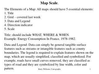 Map Scale .