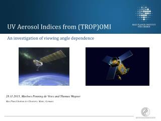 UV Aerosol Indices from (TROP)OMI