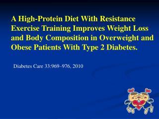 Diabetes Care 33:969–976, 2010