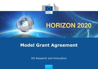 Model Grant Agreement