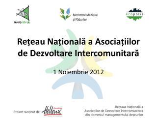 Rețeau Națională a Asociațiilor de Dezvoltare Intercomunitară